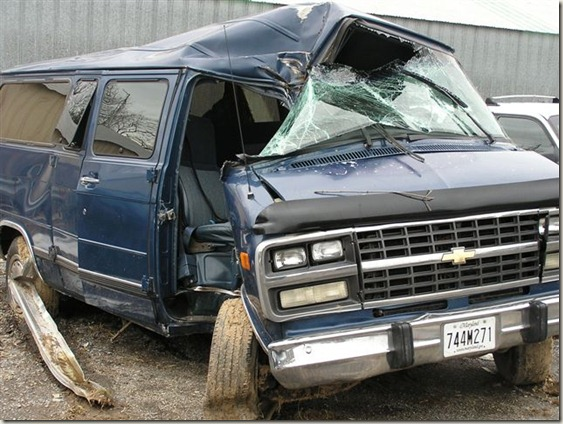 The van 038
