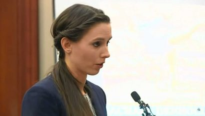Rachael Denhollander speaks at Larry Nassar's sentencing